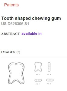 tooth-shaped