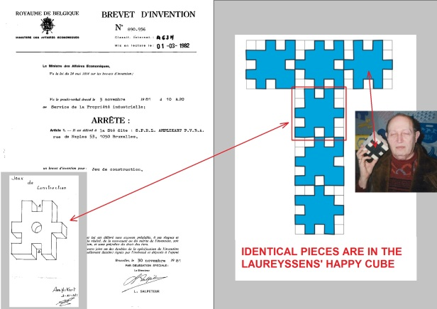 Amplikart PVBA patent November 30, 1981 Jeu de construction BE890956A1