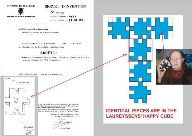 Amplikart PVBA patent November 30, 1981 Jeu de construction BE890956A1