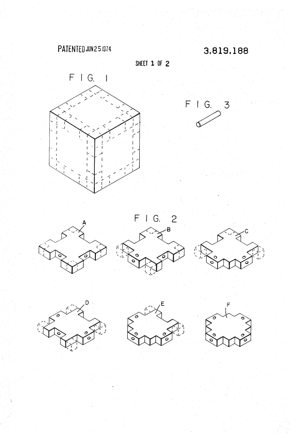 Illustration of Freedman patent of June 25, 1974 US3819188-1